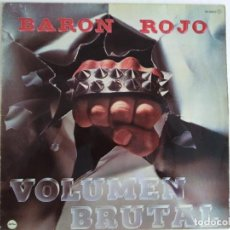 Discos de vinilo: BARÓN ROJO. VOLUMEN BRUTAL. CHAPA 1982.. Lote 215744078