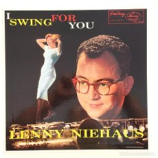 Discos de vinilo: LENNY NIEHAUS – I SWING FOR YOU JAPAN EMARCY. Lote 215745348