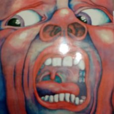 Discos de vinilo: KING CRIMSOM: IN THE COURT OF THE CRIMSON KING: LP: EDICIÓN ESPAÑOLA: CARPETA ABIERTA. Lote 215769736