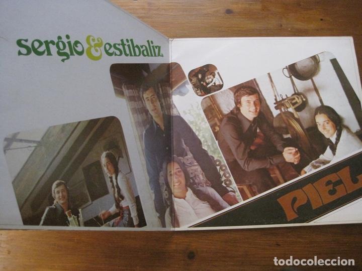 Discos de vinilo: Sergio Y Estíbaliz-Piel Lp - Foto 2 - 215803086