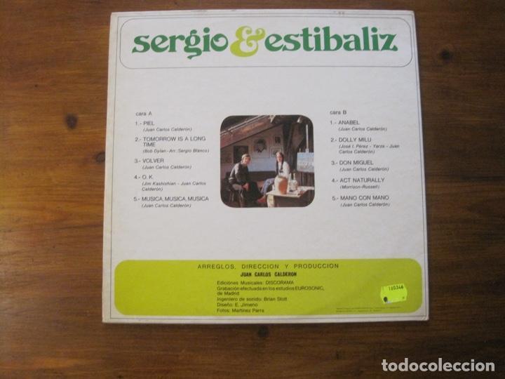 Discos de vinilo: Sergio Y Estíbaliz-Piel Lp - Foto 3 - 215803086