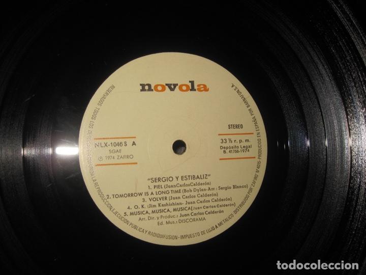 Discos de vinilo: Sergio Y Estíbaliz-Piel Lp - Foto 4 - 215803086