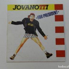 Discos de vinilo: JOVANOTTI - FOR PRESIDENT. Lote 215814612