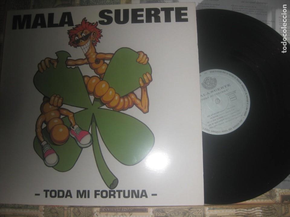 MALA SUERTE TODA MI FORTUNA +ENCARTE(FONOGRAFICA -1993) OG ESPAÑA LEA DESCRIPCION (Música - Discos - LP Vinilo - Grupos Españoles de los 70 y 80)