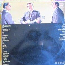 Discos de vinil: LP - TRIO LOS PANCHOS - MUSICA DE ERNESTO LECUONA (SPAIN, CBS 1985). Lote 215818261