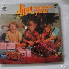 Dischi in vinile: PIPPI CALZASLARGAS. CANTA A LA NAVIDAD. PHILIPS.1975. LP. PERFECTO. Lote 215818691