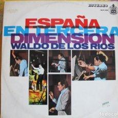 Disques de vinyle: LP - WALDO DE LOS RIOS - ESPAÑA EN 3 ª DIMENSION (SPAIN, ATLANTIC 1968). Lote 215825665