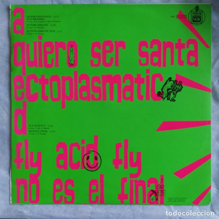 "Discos de vinilo: Alaska Y Dinarama - Quiero Ser Santa (12"", Promo) (Hispavox) 052 40 2207 6 (D:VG+) - Foto 2 - 215826738"