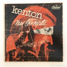 Discos de vinilo: STAN KENTON AND HIS ORCHESTRA – NEW CONCEPTS OF ARTISTRY IN RHYTHM 2 EPS GERMANY 1953 CAPITOL. Lote 215833730