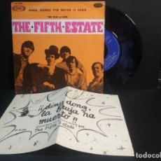 Discos de vinilo: THE FIFTH ESTATE DING, DONG THE WITCH IS DEAD SINGLE SPAIN 1967 PEPETO TOP. Lote 215841190