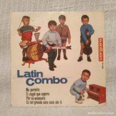 Discos de vinilo: LATIN COMBO ?- ME PERMITE / EL ANGEL QUE ESPERO / POR UN MOMENTO +1 - EP VERGARA DEL AÑO 1964. Lote 215842085