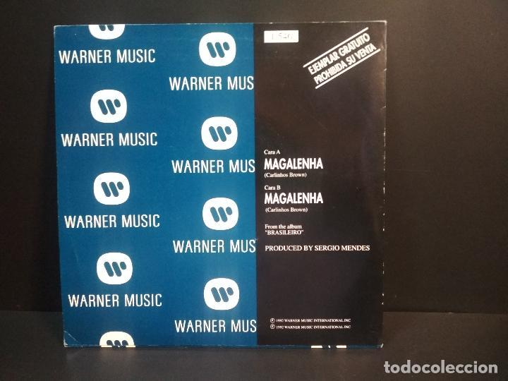 Discos de vinilo: SERGIO MENDES MAGALENHA PEPETO SPAIN 1992 PEPETO TOP - Foto 2 - 215843083