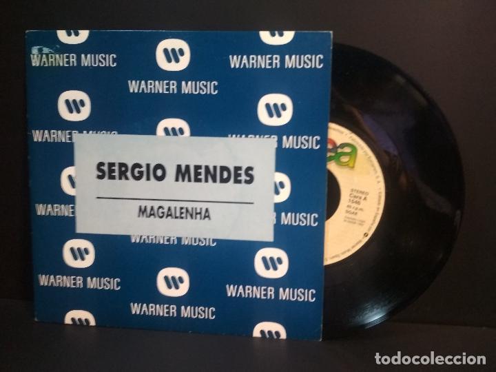 SERGIO MENDES MAGALENHA PEPETO SPAIN 1992 PEPETO TOP (Música - Discos - Singles Vinilo - Grupos y Solistas de latinoamérica)