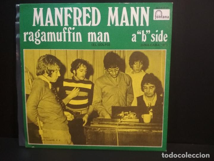 Discos de vinilo: MANFREDD MANN RAGAMUFFIN MAN SINGLE SPAIN 1960 PEPETO TOP - Foto 2 - 215844445
