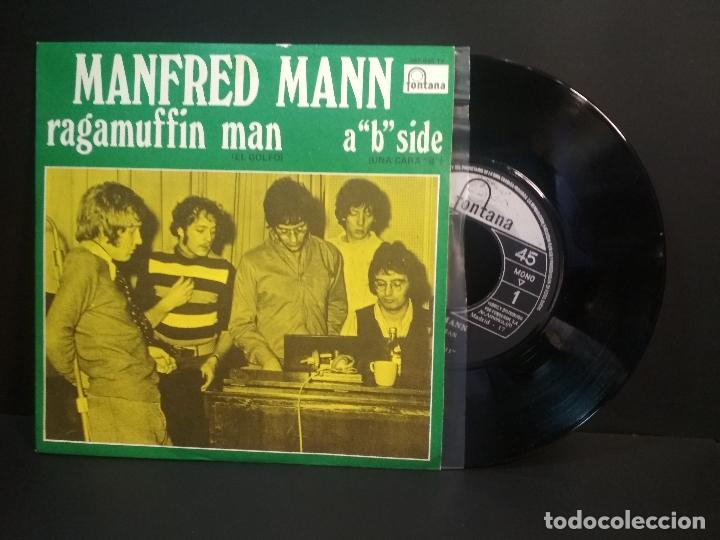 MANFREDD MANN RAGAMUFFIN MAN SINGLE SPAIN 1960 PEPETO TOP (Música - Discos - Singles Vinilo - Pop - Rock Internacional de los 50 y 60)