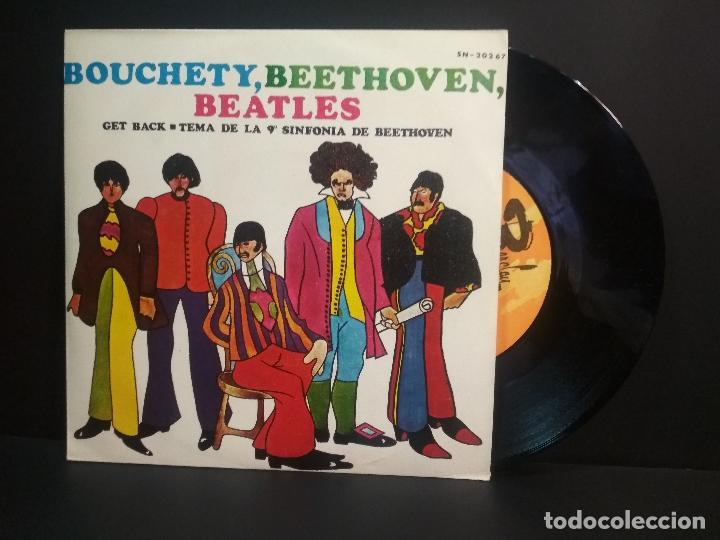JEAN BOUCHETY GET BACK SINGLE SPAIN 1969 PEPETO TOP (Música - Discos - Singles Vinilo - Pop - Rock Internacional de los 50 y 60)