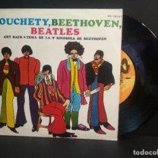Discos de vinilo: JEAN BOUCHETY GET BACK SINGLE SPAIN 1969 PEPETO TOP. Lote 215844750
