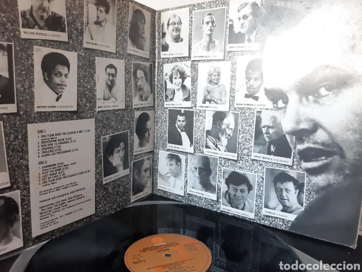 Discos de vinilo: ALGUIEN VOLO SOBRE EL NIDO DEL CUCO. BANDA ORIGINAL. FANTASY. 1976. SPAIN. - Foto 2 - 215870995