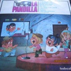 Discos de vinilo: LA PANDILLA - LA PANDILLA LP - ORIGINAL ESPAÑOL - MOVIEPLAY RECORDS 1970 - GATEFOLD COVER -. Lote 215874980