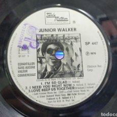Discos de vinilo: JUNIOR WALKER / EDDIE KENDRICKS EP PROMOCIONAL FRANCIA 1976. Lote 215925510