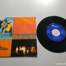 Disques de vinyle: 0820- DIANA ROSS & THE SUPREMES & THE TEMPTATIONS ILL TRY ES 69 SINGLE VIN 7 POR VG DIS NM. Lote 215930518