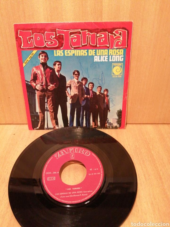 LOS TAMARA. LAS ESPINAS DE UNA ROSA. ALICE LONG (TOMMY BOYCE & BOBBY HURT ) (Música - Discos - LP Vinilo - Grupos Españoles 50 y 60)