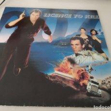 Discos de vinilo: LP BANDA SONORA LICENCE TO KILL ( 007 JAMES BOND ) EDIC. INGLESA .REF. UR. Lote 215945717