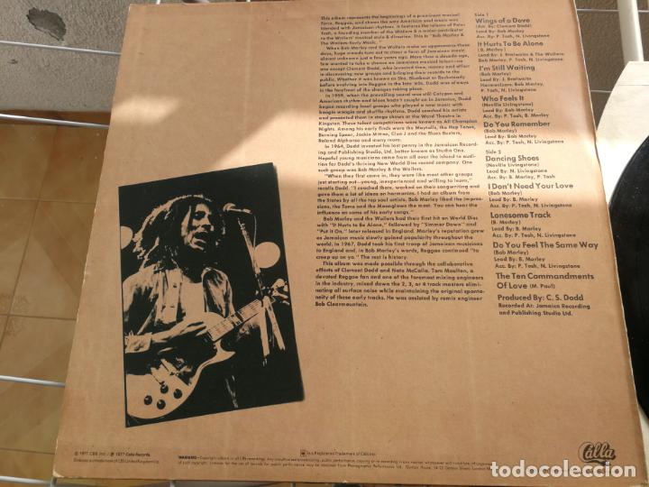Discos de vinilo: BOB MARLEY & THE WAILERS featuring PETER TOSH ( EARLY MUSIC ) ENGLAND-1977 LP33 - Foto 2 - 215948802