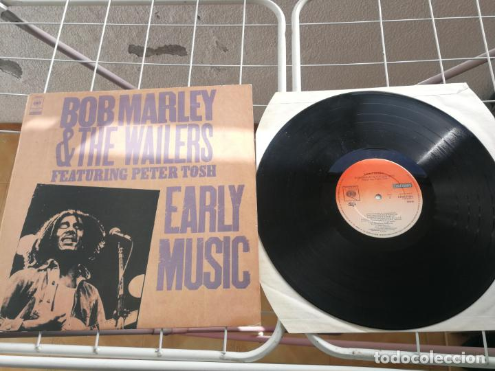 BOB MARLEY & THE WAILERS FEATURING PETER TOSH ( EARLY MUSIC ) ENGLAND-1977 LP33 (Música - Discos - LP Vinilo - Reggae - Ska)