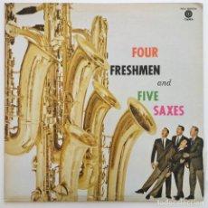 Discos de vinilo: THE FOUR FRESHMEN – FOUR FRESHMEN AND FIVE SAXES, JAPAN CAPITOL RECORDS. Lote 215962778