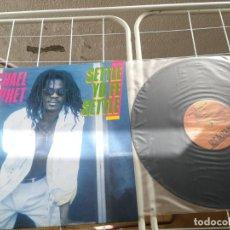 Discos de vinilo: UNICO EN TC LP MICHAEL PROPHET SETTLE YU FE SETTLE 1987 EDICION INGLESA RARO. Lote 215964166