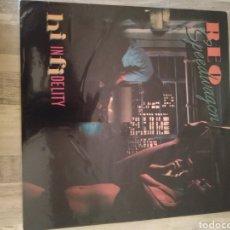 """Discos de vinilo: REO SPEEDWAGON """" HI INFIDELITY"""". EDICIÓN U.S.A. 1980. Lote 215975243"""