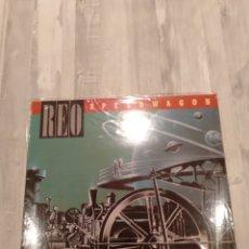 "Discos de vinilo: REO SPEEDWAGON "" WHEELS ARE TURNIN' "". EDICIÓN ESPAÑOLA. 1984. Lote 215976000"