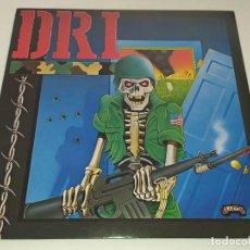 Discos de vinilo: LP D.R.I. - DIRTY ROTTEN LP / VIOLENT PACIFICATION. Lote 215982818