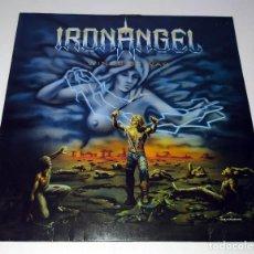 Discos de vinilo: LP IRON ANGEL - WINDS OF WAR. Lote 215984455