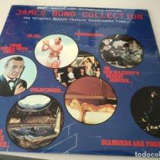 Discos de vinilo: DOS LP BANDA SONORA JAMES BOND COLLECTION ( 007 JAMES BOND ) EDIC. INGLESA .REF. UR. Lote 215985240