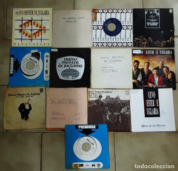 LOTE 13 SINGLES DE NUEVO MESTER DE JUGLARIA (Música - Discos - Singles Vinilo - Country y Folk)