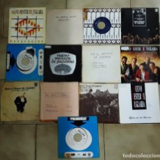 Discos de vinilo: LOTE 13 SINGLES DE NUEVO MESTER DE JUGLARIA. Lote 215992288
