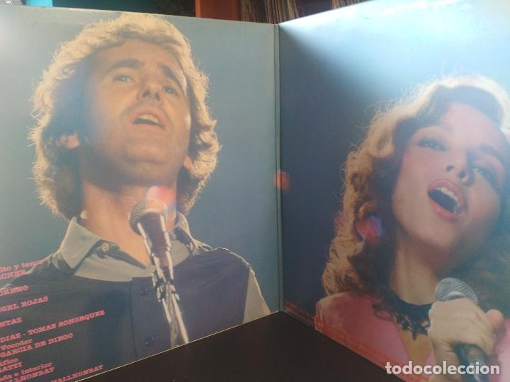 Discos de vinilo: VICTOR MANUEL Y ANA BELEN VICTOR Y ANA EN VIVO LP SPAIN 1983 PDELUXE - Foto 2 - 216010290