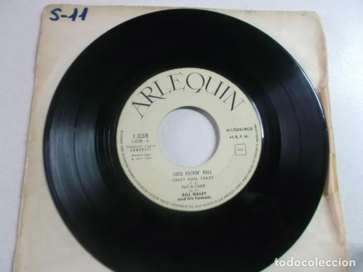 Discos de vinilo: Bill Haley And His Comets – Loco Rockn Roll , ed española 1960, portada blanca - Foto 2 - 216010573