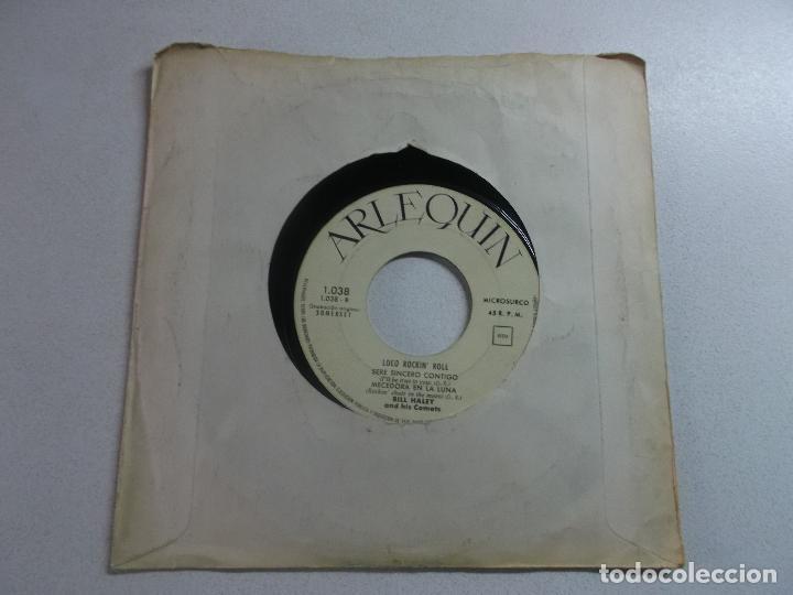 Discos de vinilo: Bill Haley And His Comets – Loco Rockn Roll , ed española 1960, portada blanca - Foto 4 - 216010573