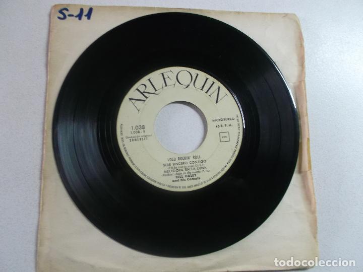 BILL HALEY AND HIS COMETS – LOCO ROCKN' ROLL , ED ESPAÑOLA 1960, PORTADA BLANCA (Música - Discos de Vinilo - EPs - Rock & Roll)