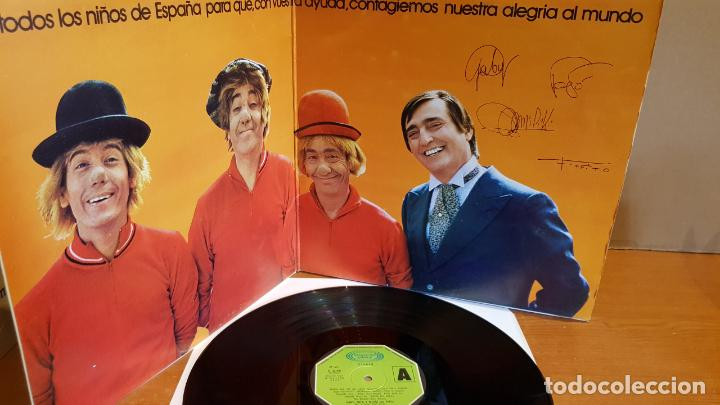 Discos de vinilo: GABY, FOFO Y MILIKI CON FOFITO / LP-GATEFOLD - MOVIE PLAY-1974 / MBC. ***/*** - Foto 2 - 216203068