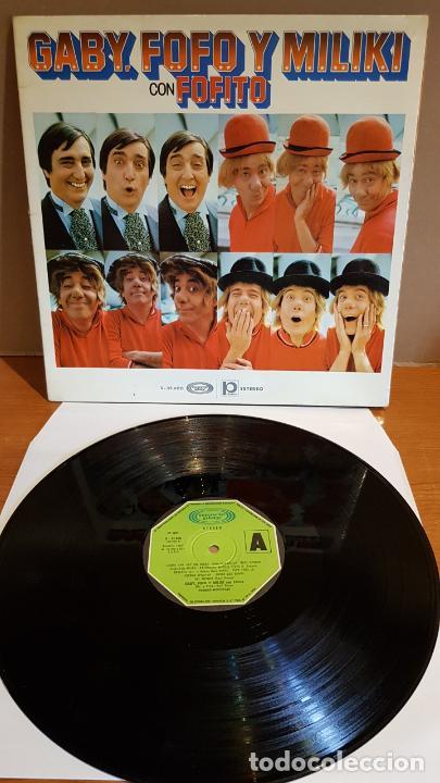 GABY, FOFO Y MILIKI CON FOFITO / LP-GATEFOLD - MOVIE PLAY-1974 / MBC. ***/*** (Música - Discos - LPs Vinilo - Música Infantil)