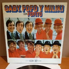 Discos de vinilo: GABY, FOFO Y MILIKI CON FOFITO / LP-GATEFOLD - MOVIE PLAY-1974 / MBC. ***/***. Lote 216203068