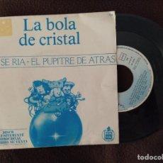 Disques de vinyle: ALASKA SG LA BOLA DE CRISTAL NO SE RIA + LOQUILLO Y OLVIDO EL PUPITRE DE ATRAS(SINGLE PROMOCIONAL). Lote 216334315