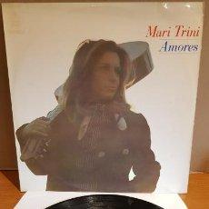 Discos de vinilo: MARI TRINI / AMORES / LP - HISPAVOX-1970 / MBC. ***/***. Lote 216355918