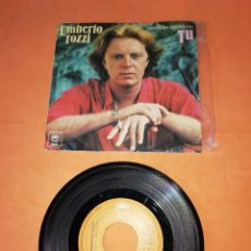Discos de vinilo: UMBERTO TOZZI. CANTA EN CASTELLANO. TU. EPIC 1978. Lote 216357022