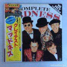 Discos de vinilo: MADNESS – COMPLETE MADNESS JAPAN 1982 STIFF RECORDS. Lote 216360150