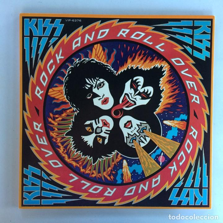 KISS – ROCK AND ROLL OVER JAPAN,1976 CASABLANCA (Música - Discos - LP Vinilo - Heavy - Metal)